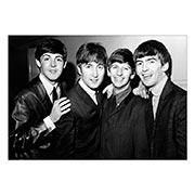 Портретный постер Beatles